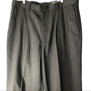NATURAL ISSUE pleated pants grey size 38/30